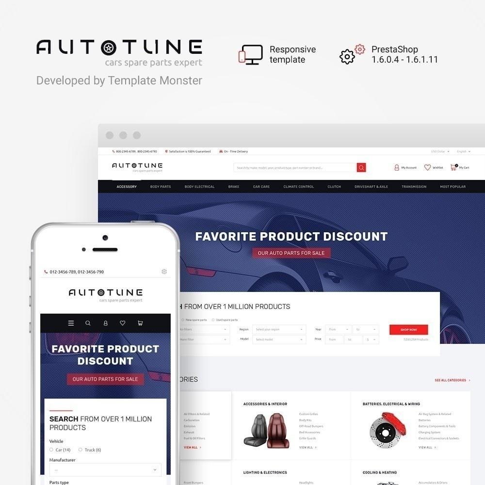 Autotune - para Sitio de Repuestos de coches