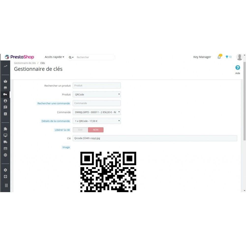 module - Sécurité & Accès - Key Manager (Gestion des produits à clés) - 2