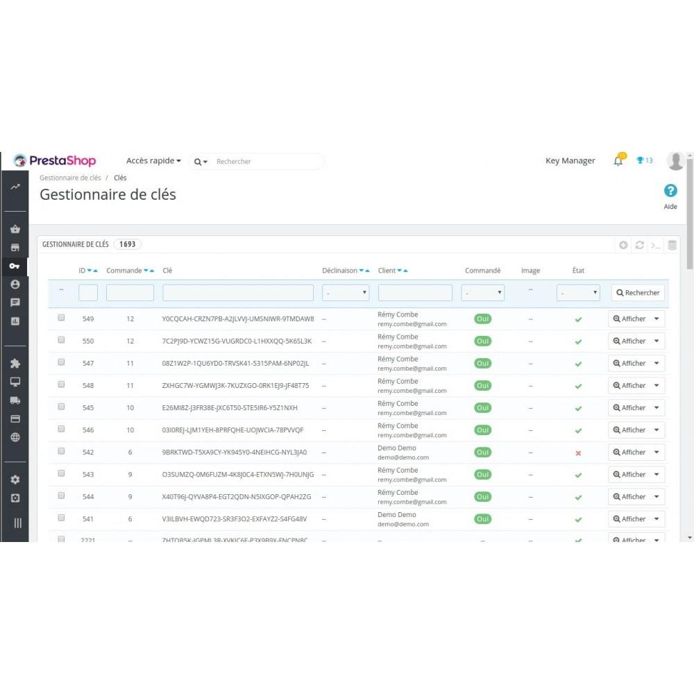 module - Sécurité & Accès - Key Manager (Gestion des produits à clés) - 8