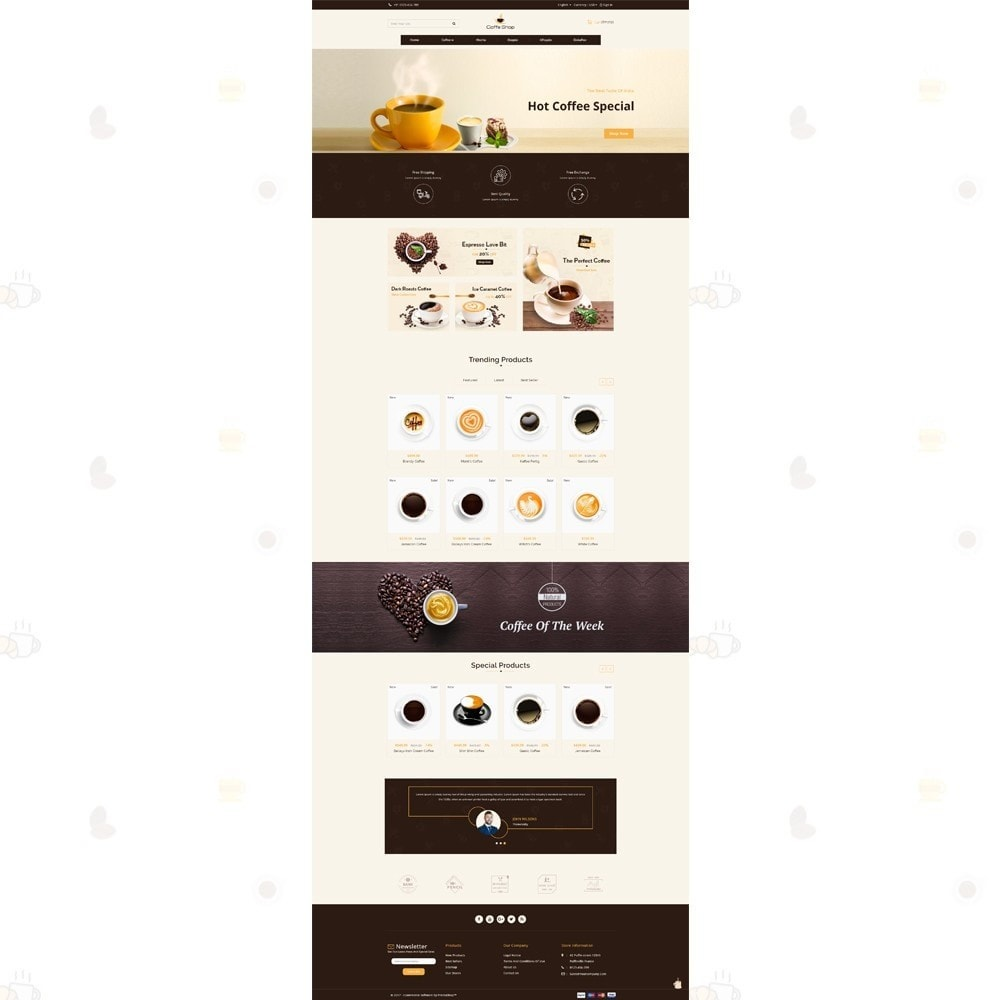 theme - Alimentation & Restauration - Coffee Shop - 2