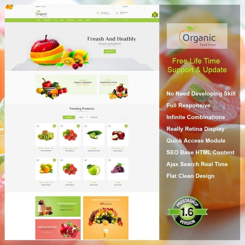 theme - Cibo & Ristorazione - Organic Food Store - 1