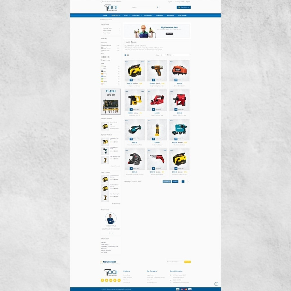 theme - Carros & Motos - Tools Shop - 4