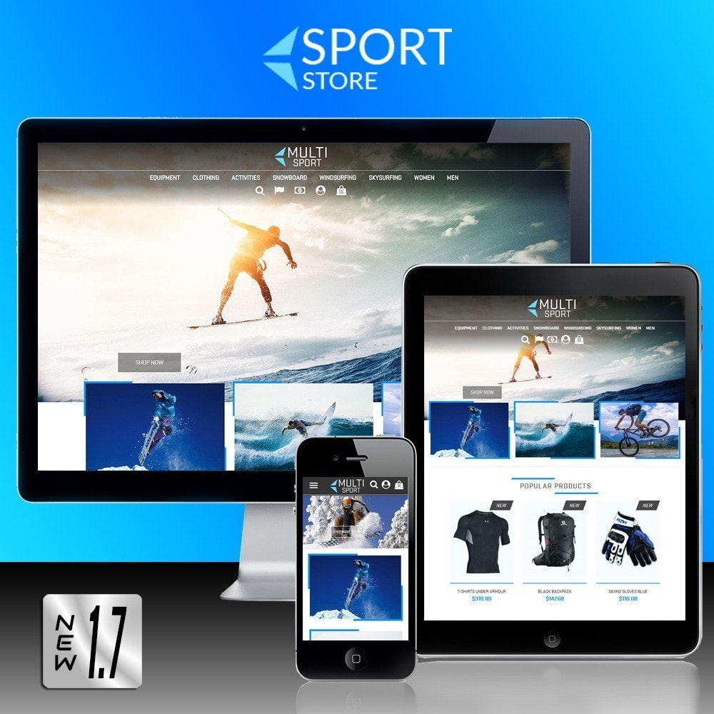 theme - Sports, Activities & Travel - Multi Sport - 1