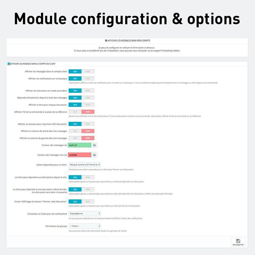 module - Service Client - Afficher les discussions et messages à vos clients - 5