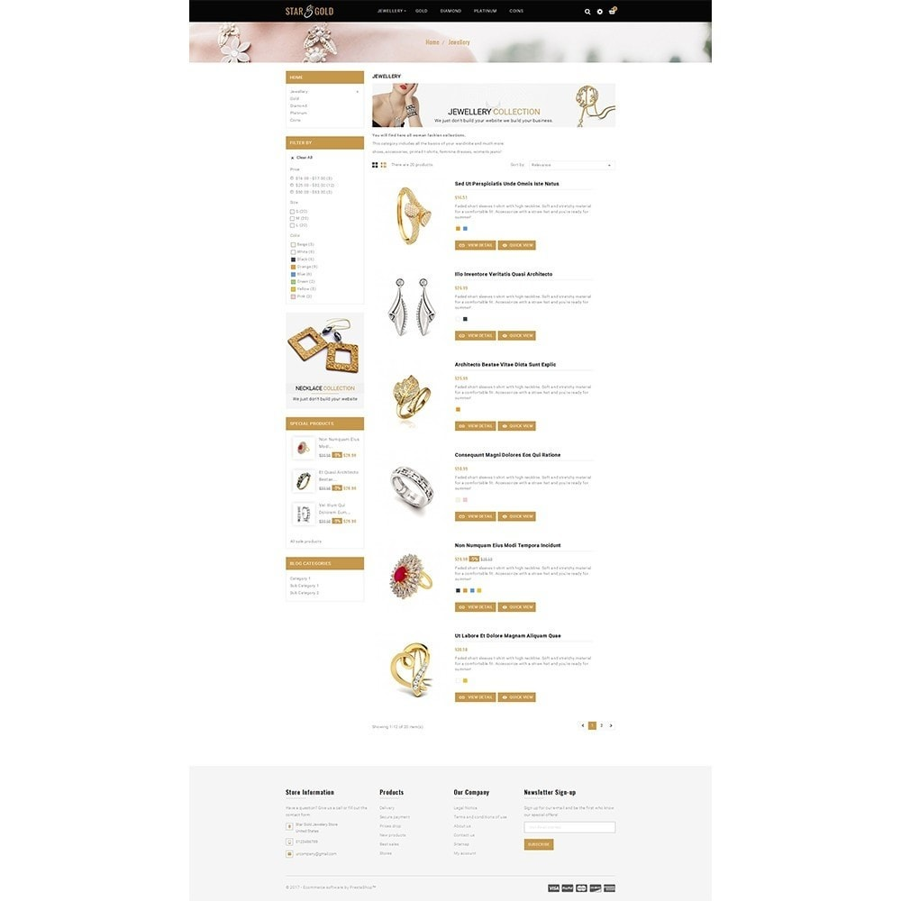 theme - Sieraden & Accessoires - Star Gold Jewellery Store - 4