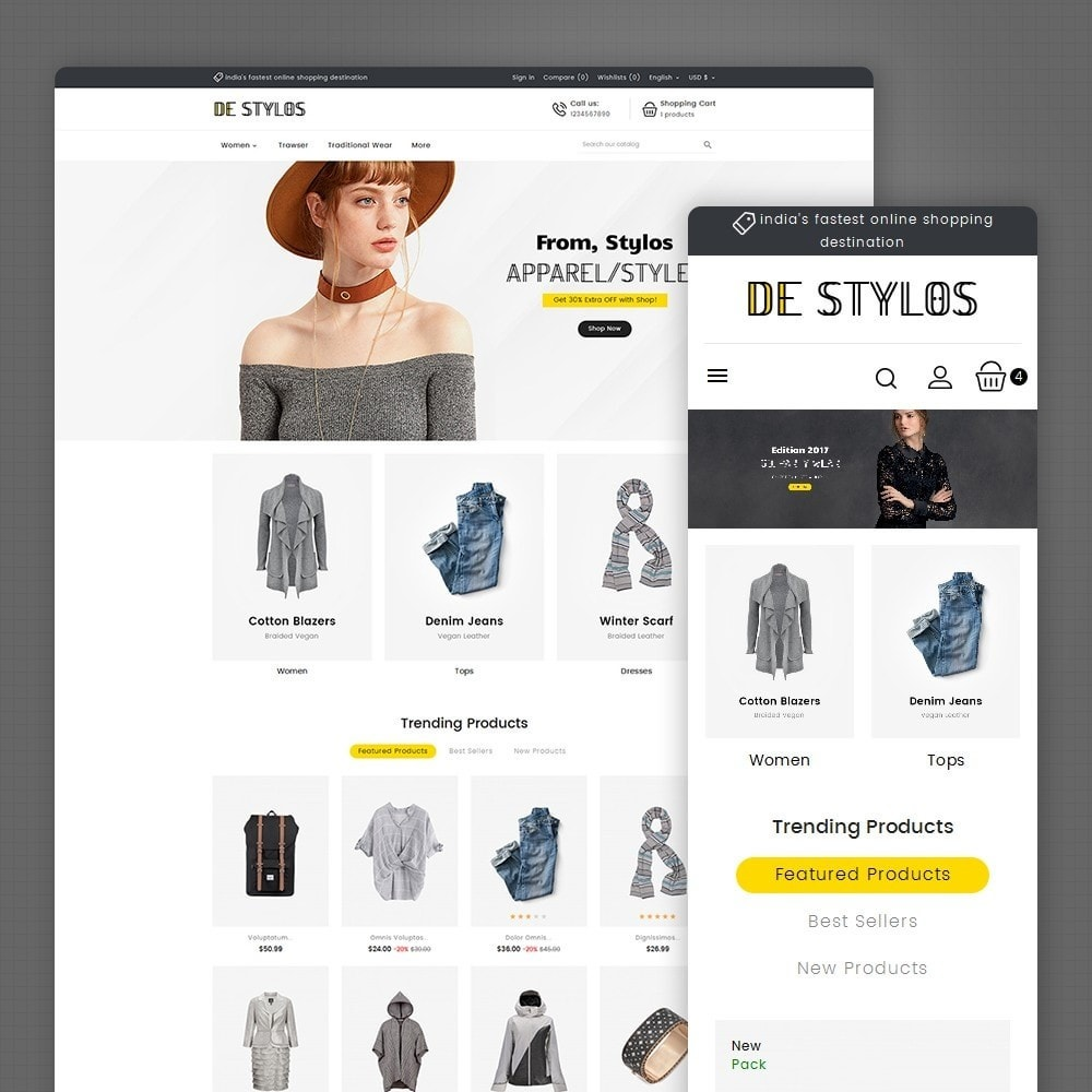 theme - Moda & Calzature - Stylo Fashion - 1