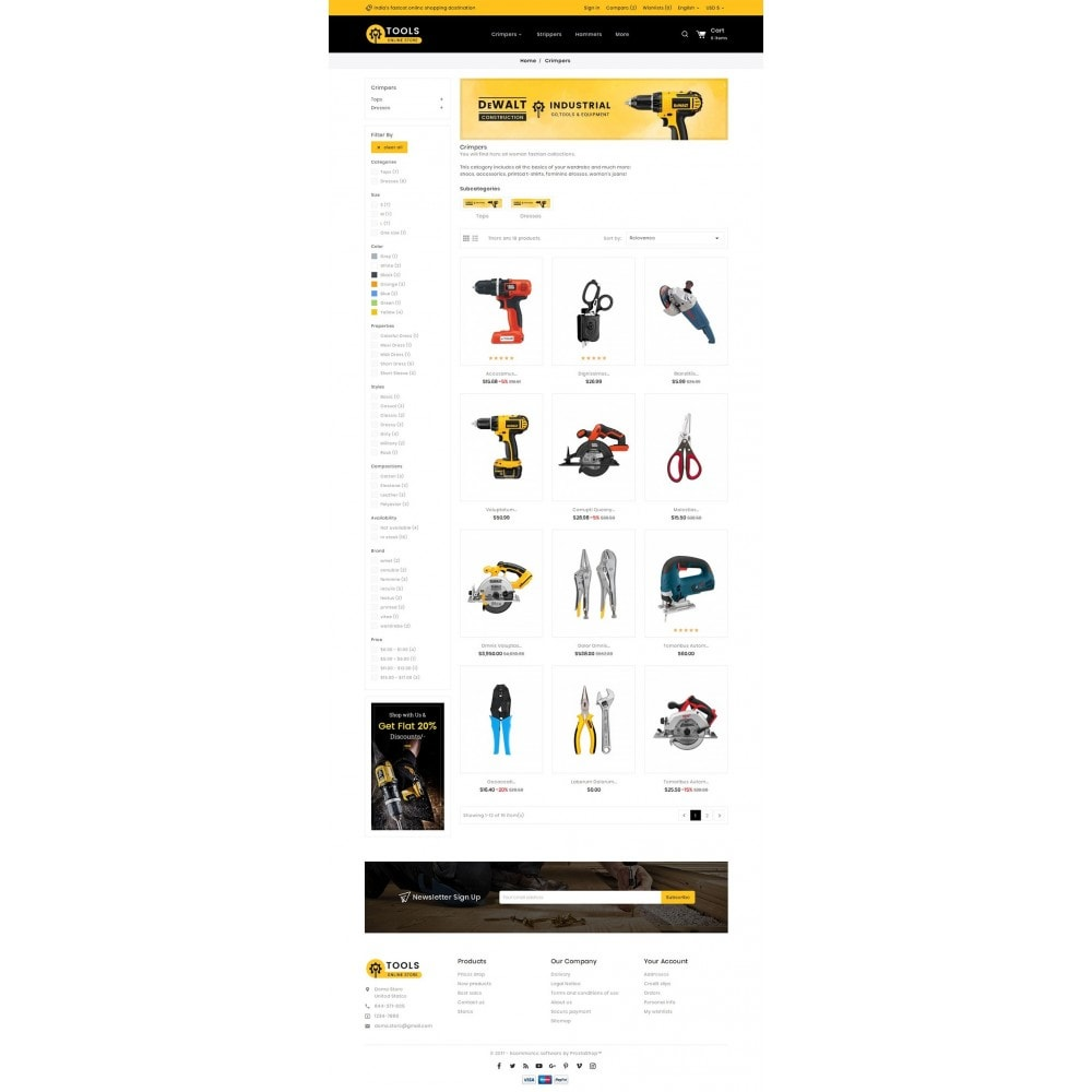 theme - Home & Garden - Tools Store - 3