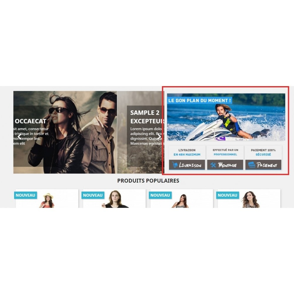 module - Promotions & Cadeaux - Home img Promo - 1