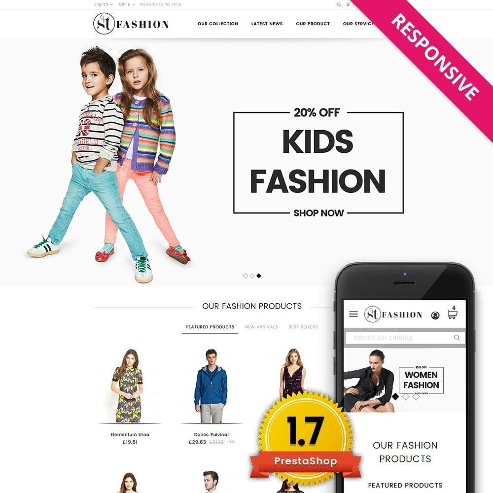 theme - Fashion & Shoes - ST Fashion Store - 1