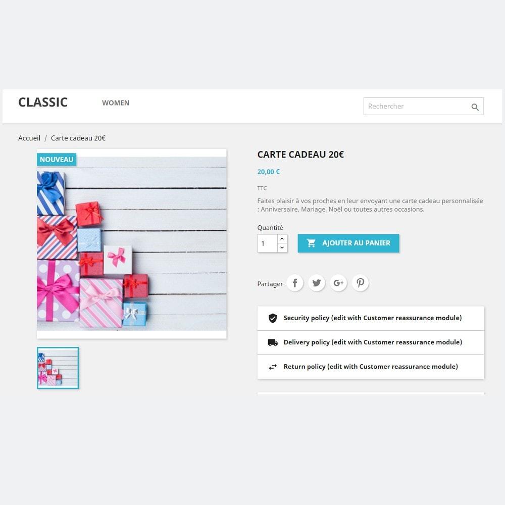 module - Liste de souhaits & Carte cadeau - Carte Cadeau Premium 1.7 - 4