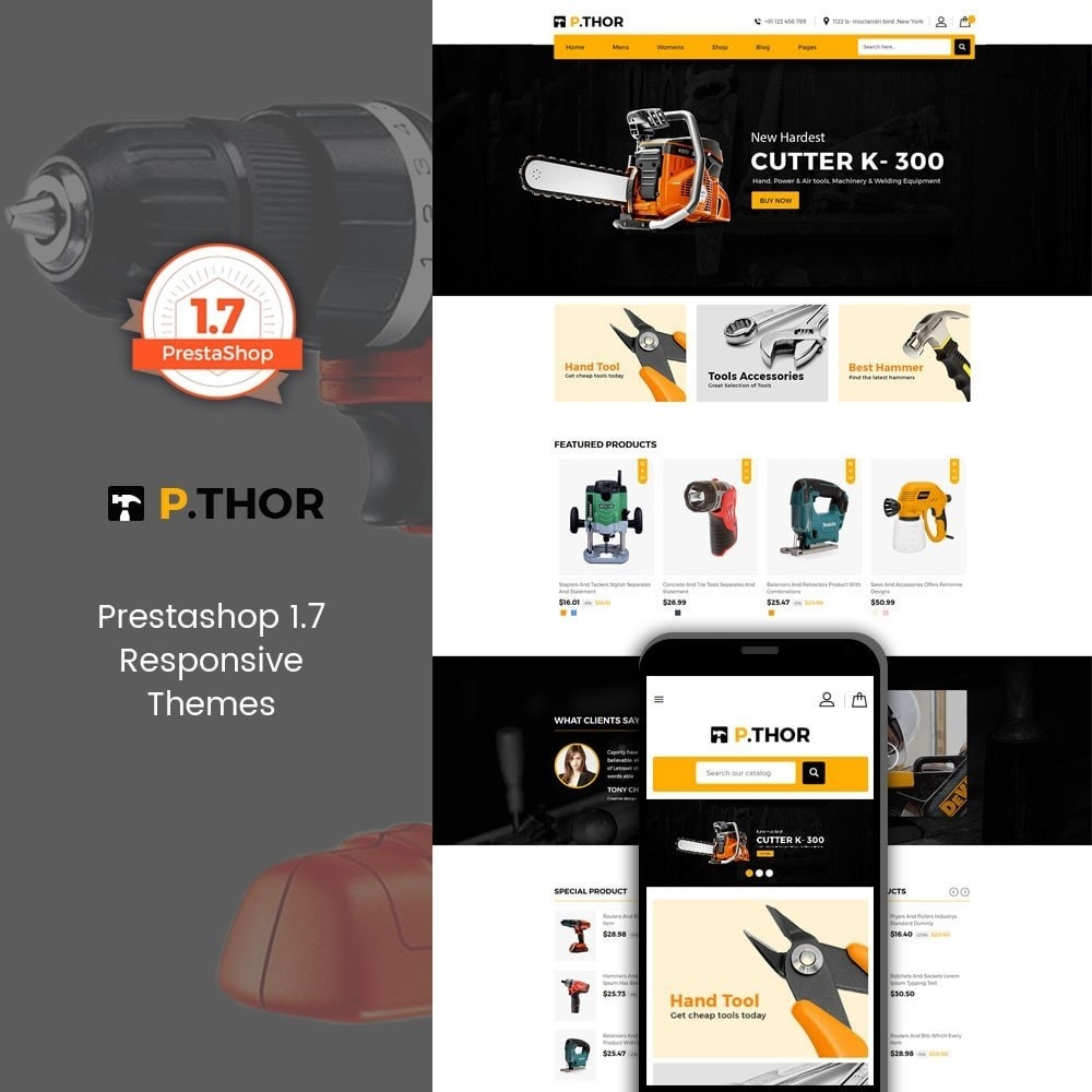 theme - Automotive & Cars - Thor Tools Store - 1