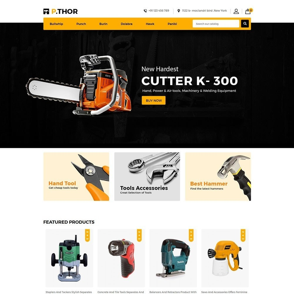 theme - Automotive & Cars - Thor Tools Store - 2