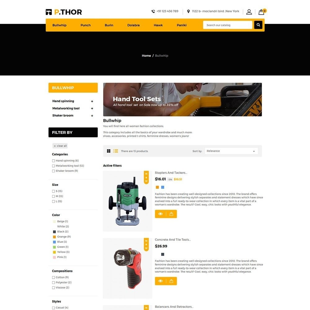 theme - Automotive & Cars - Thor Tools Store - 4