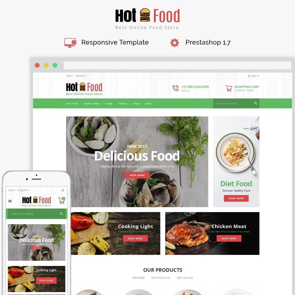 Hotfood Demo Store