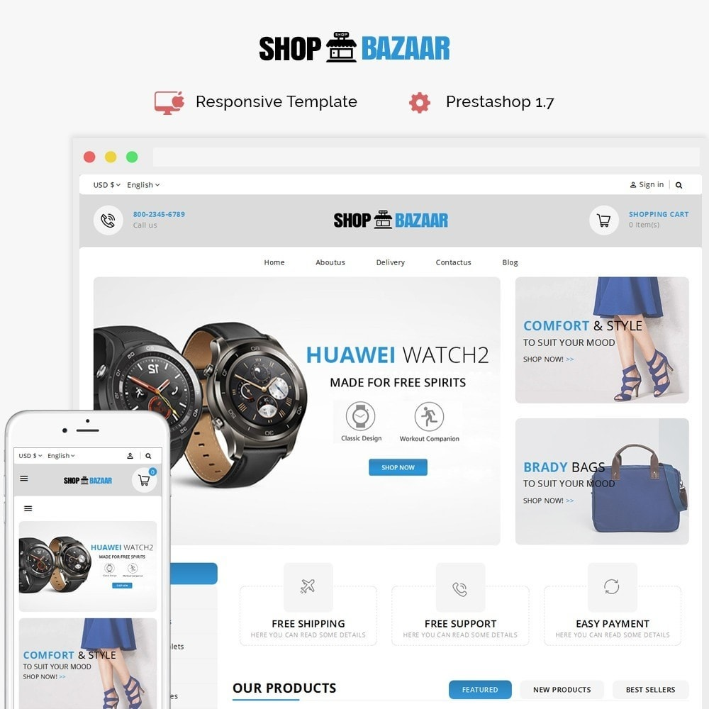 theme - Maison & Jardin - ShopBazar Mega Store V3 - 1