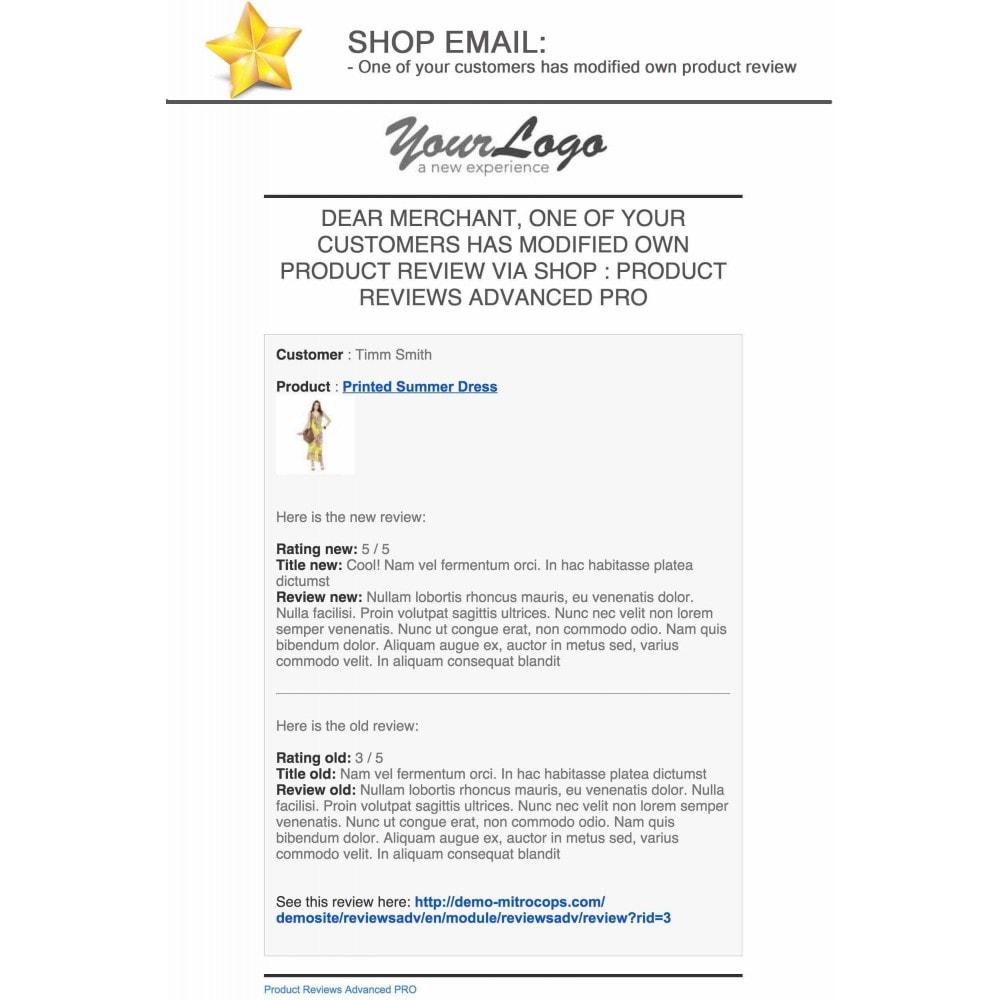 module - Recensioni clienti - Product Reviews Advanced PRO + Reminder + User Profile - 26