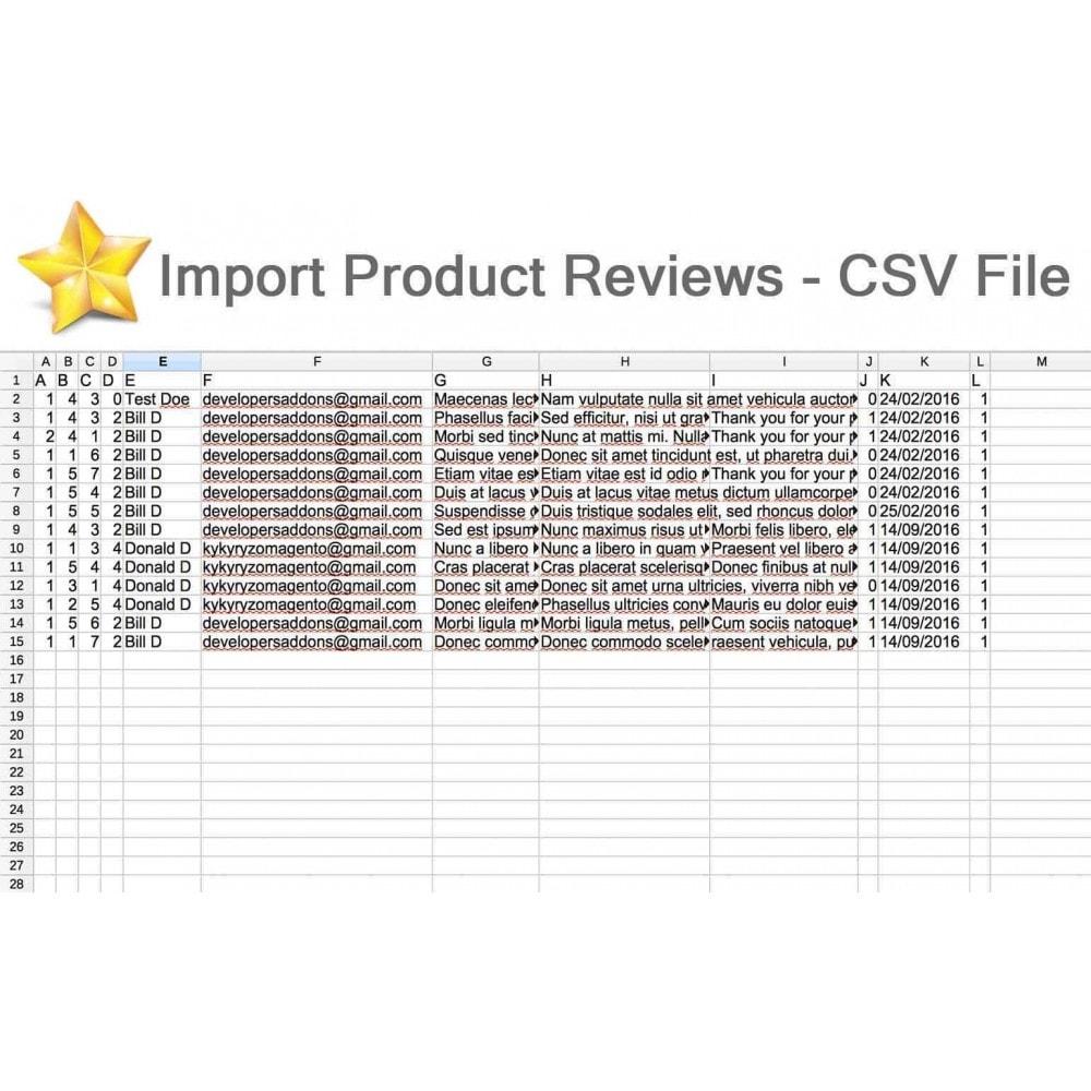 module - Recensioni clienti - Product Reviews Advanced PRO + Reminder + User Profile - 34