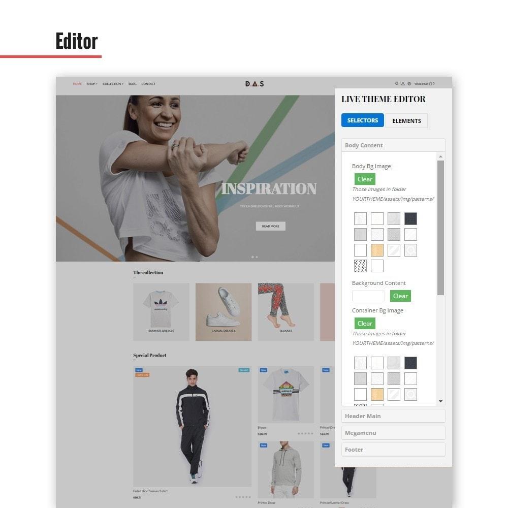 theme - Fashion & Shoes - Leo Das - Clothing & Sport - 3