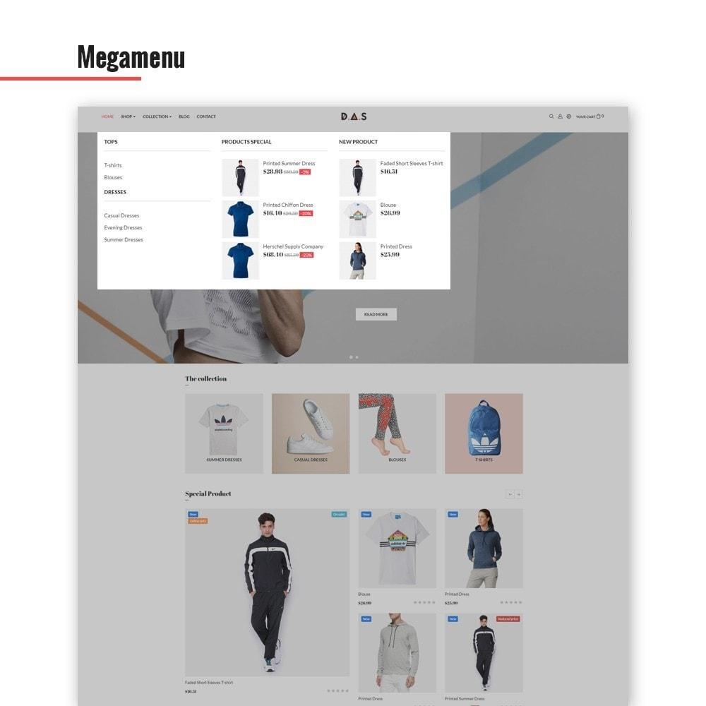 theme - Fashion & Shoes - Leo Das - Clothing & Sport - 4
