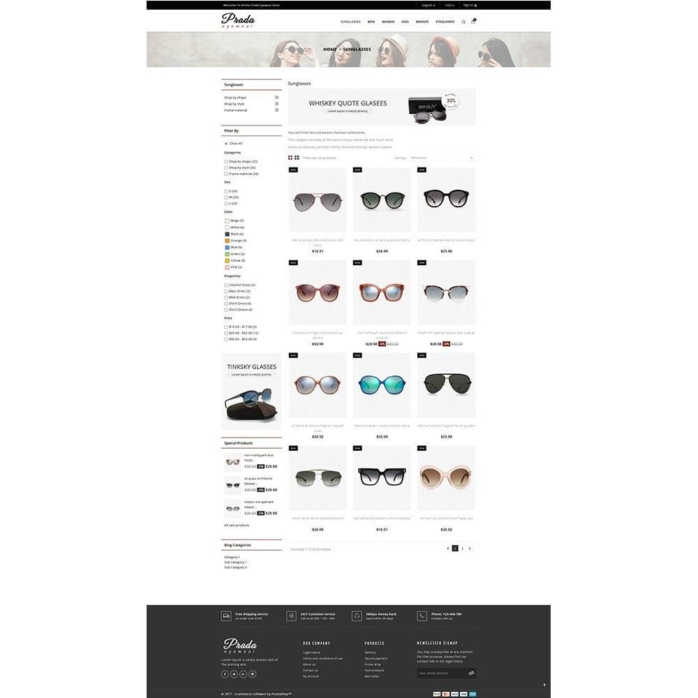 Prada eyewear sunglasses store
