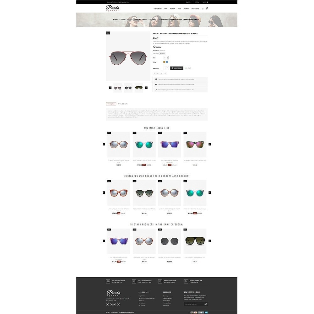 theme - Mode & Schoenen - Prada eyewear sunglasses store - 5
