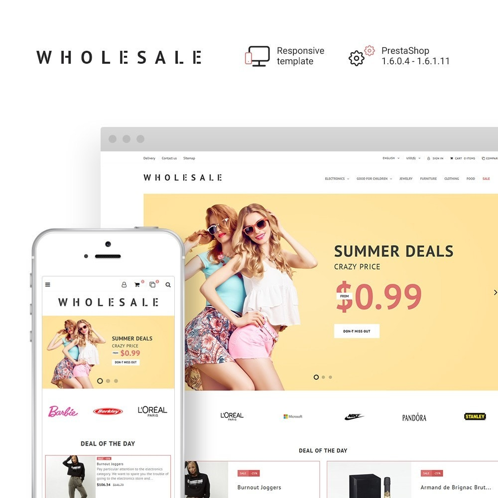 theme - Moda & Calçados - Wholesale 1.7 - 1