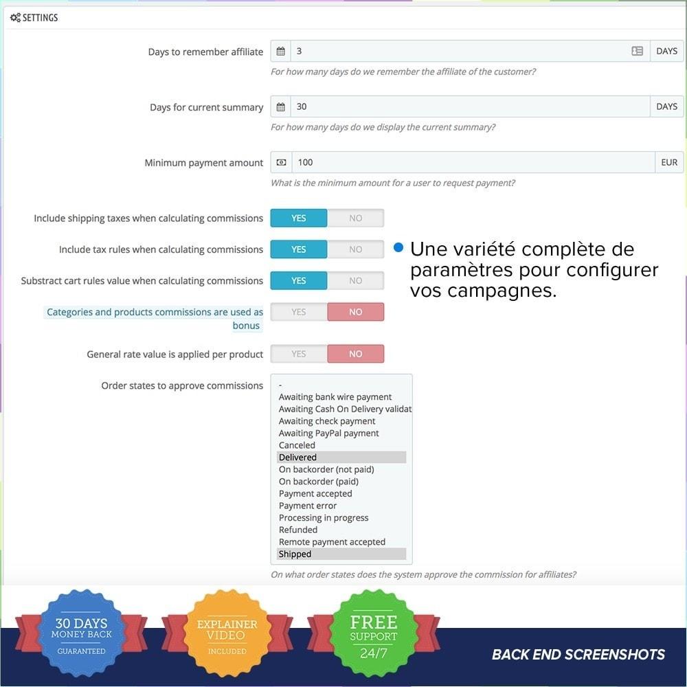 module - Référencement payant (SEA SEM) & Affiliation - Full Affiliés PRO - 11