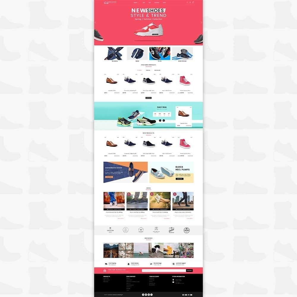 theme - Sports, Activities & Travel - Shoes Shop - Special Shoes Shop - 2