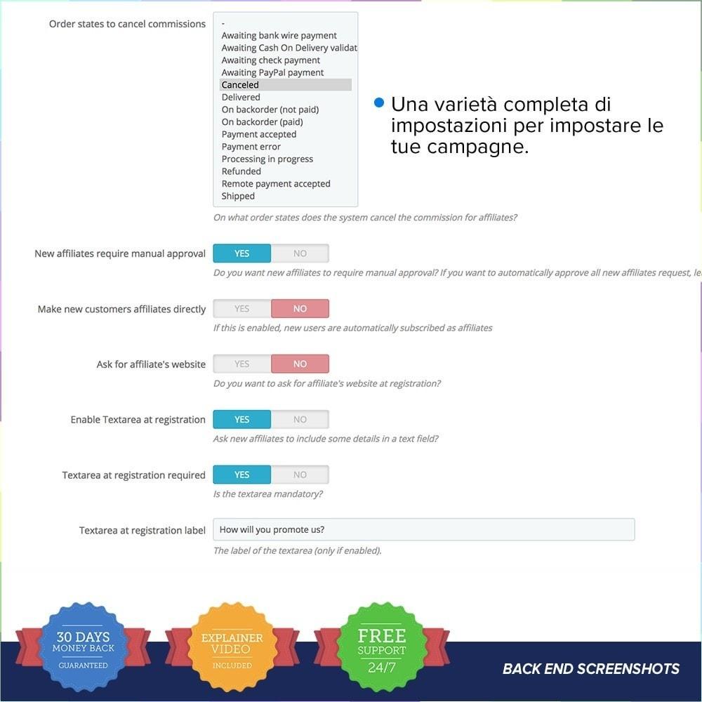 module - Indicizzazione a pagamento (SEA SEM) & Affiliazione - Full Affiliato - 13