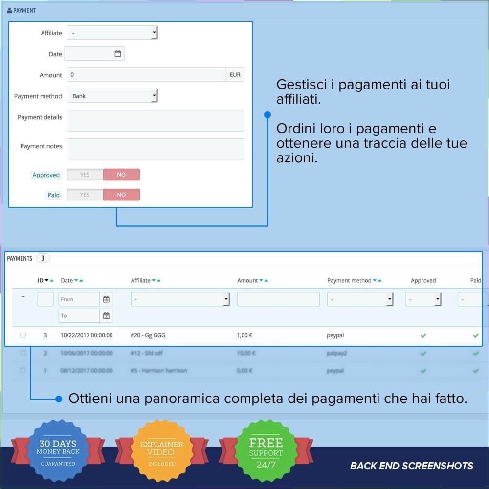 module - Indicizzazione a pagamento (SEA SEM) & Affiliazione - Full Affiliato - 16