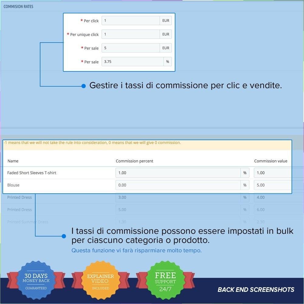 module - Indicizzazione a pagamento (SEA SEM) & Affiliazione - Full Affiliato - 20