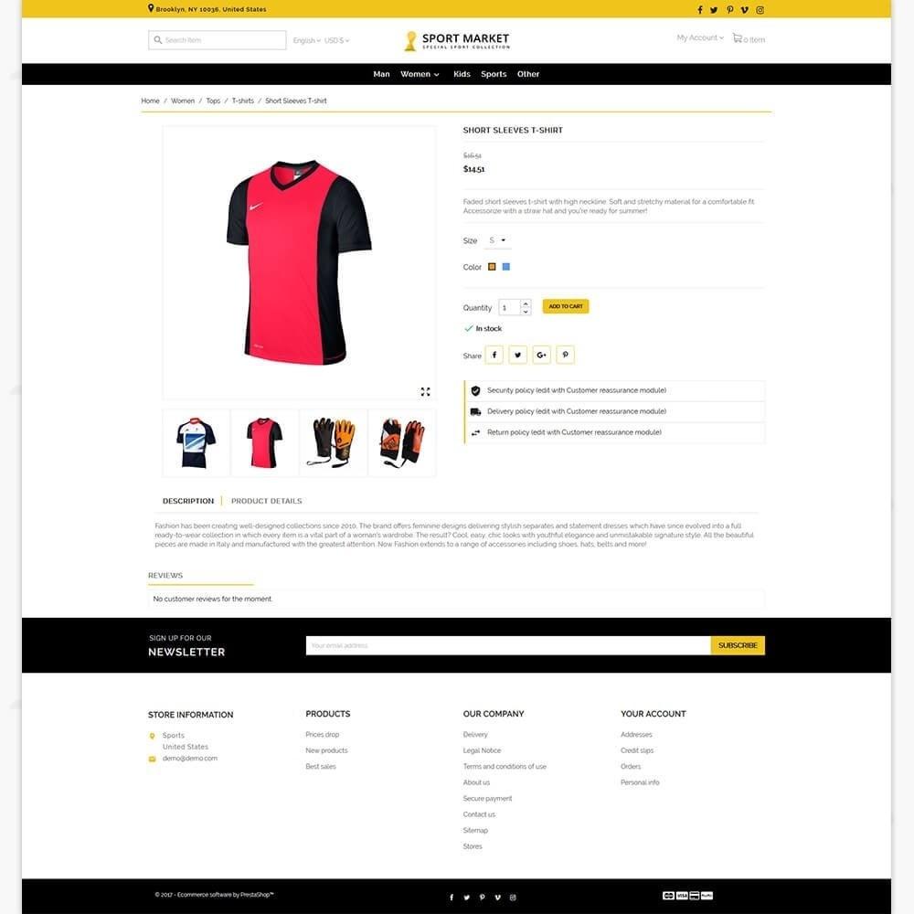 theme - Sport, Activiteiten & Reizen - Sport Market - 5