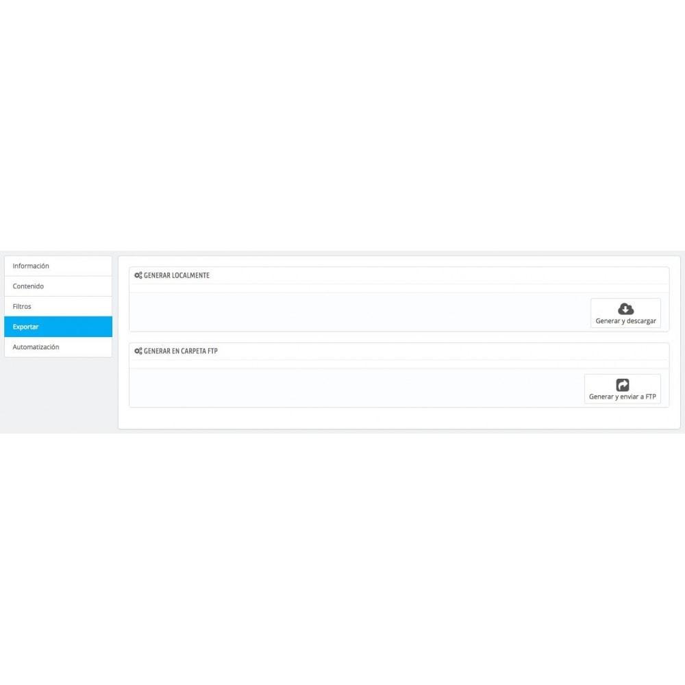 module - Importación y Exportación de datos - Exportar Factura–Comprobante de Crédito(CRON/FTP/EMAIL) - 4