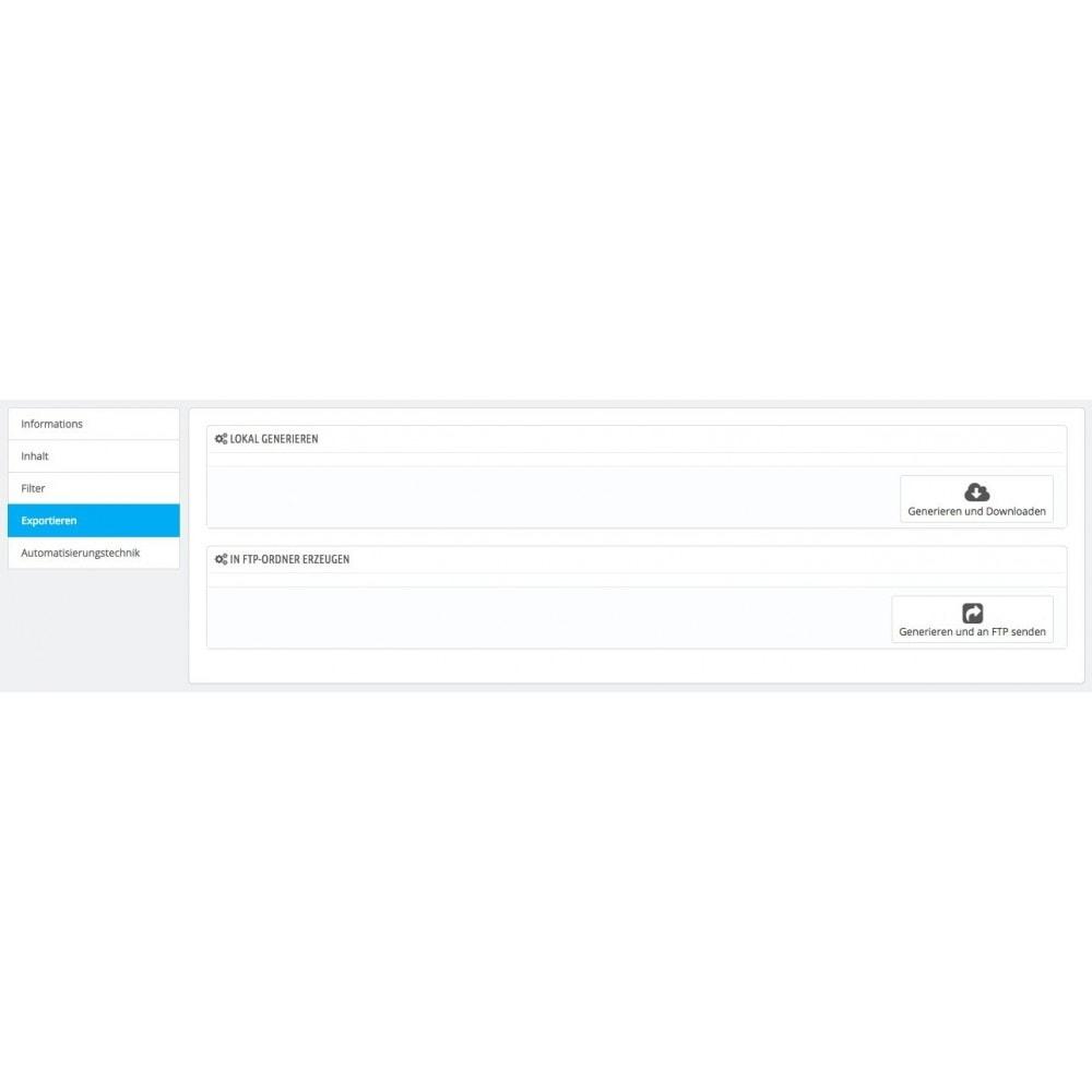 module - Daten Im-&Export - Rechnung - Gutschrift Export (CRON / FTP / MAIL) - 5