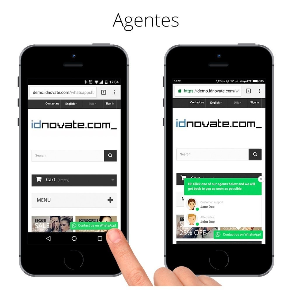 module - Asistencia & Chat online - WhatsApp Chat - Chat en vivo con tus clientes - 6