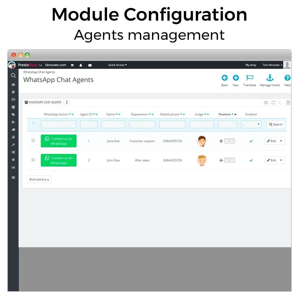 module - Wsparcie & Czat online - WhatsApp Live Chat With Customers et WhatsApp Business - 20