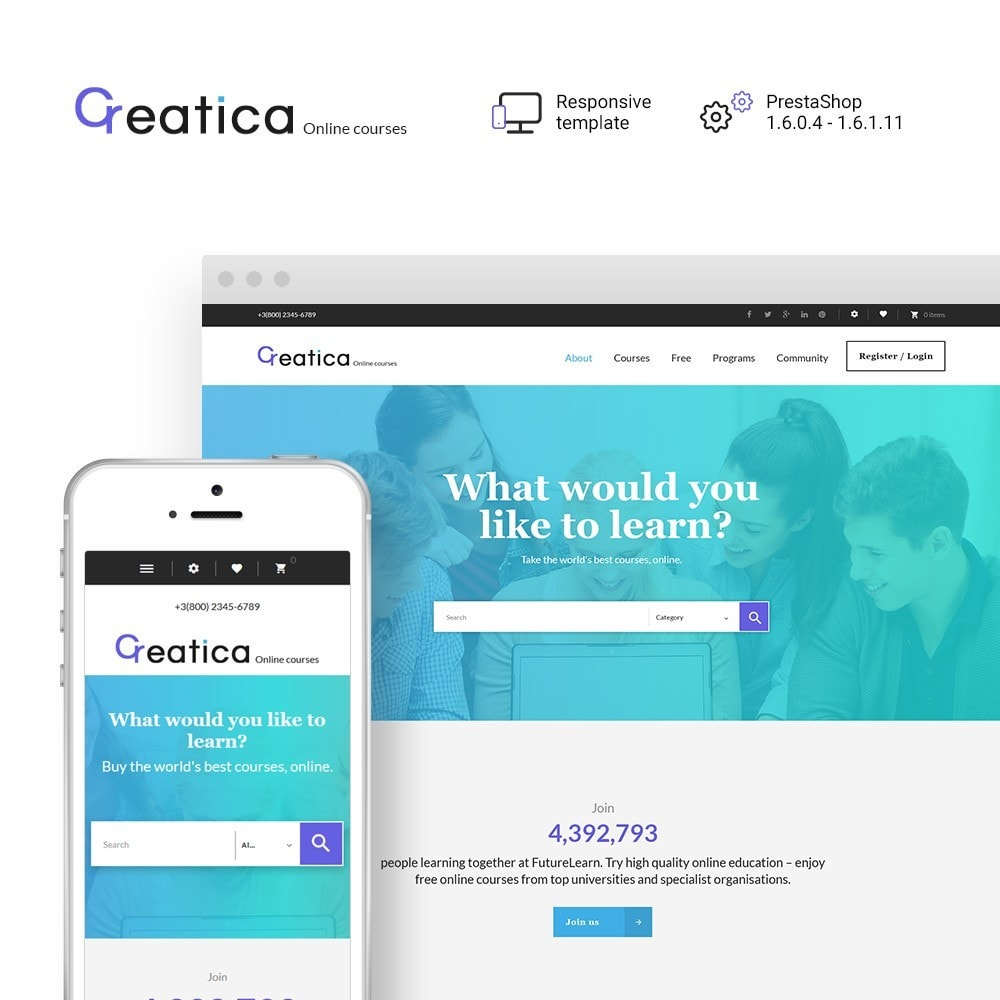 Creatica - Cours en ligne