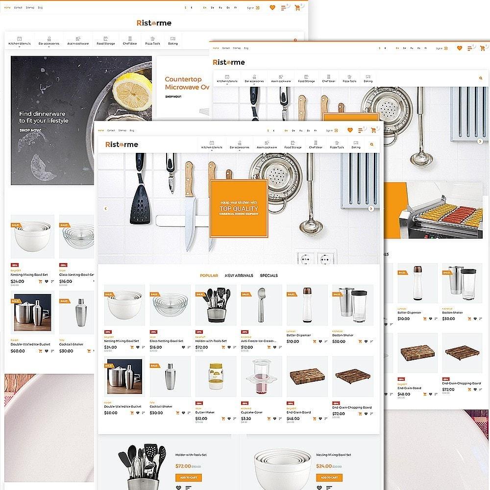 theme - Продовольствие и рестораны - Ristorme - Restaurant Equipment & Houseware - 3