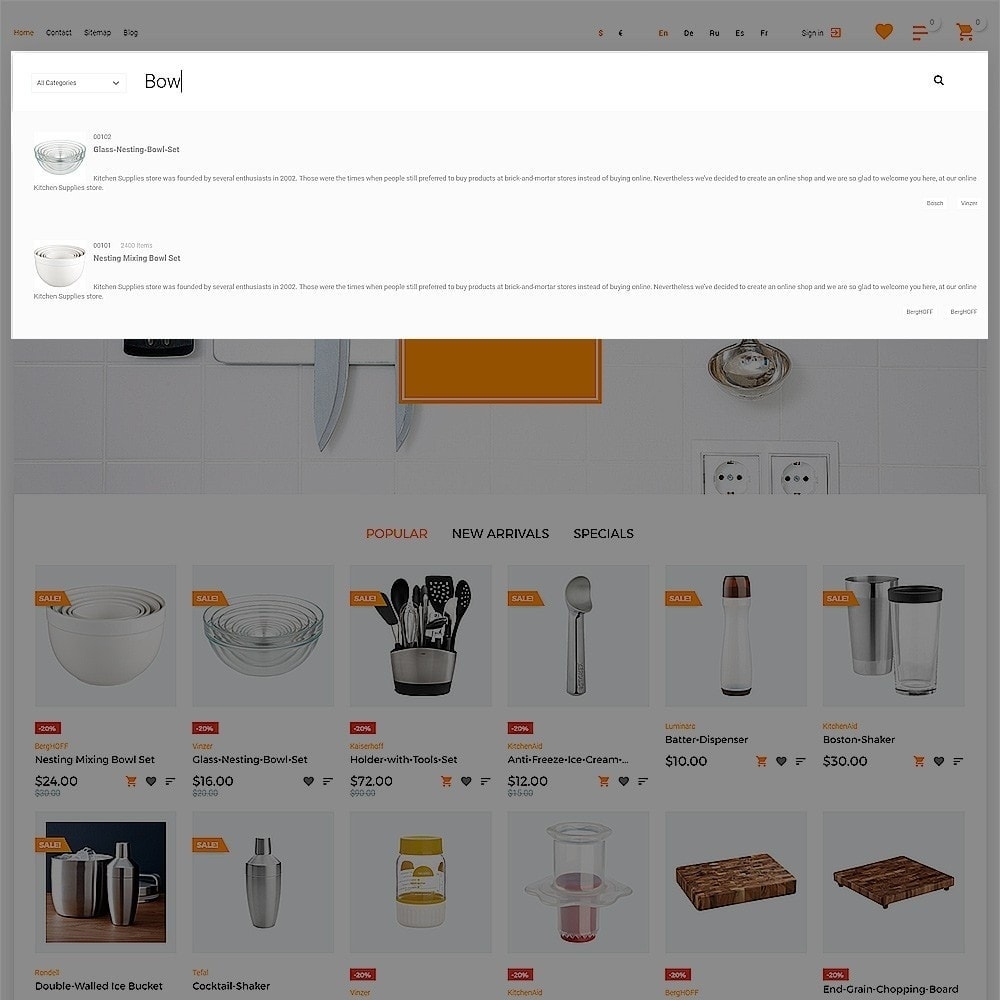theme - Искусство и Культура - Ristorme - Restaurant Equipment & Houseware - 6