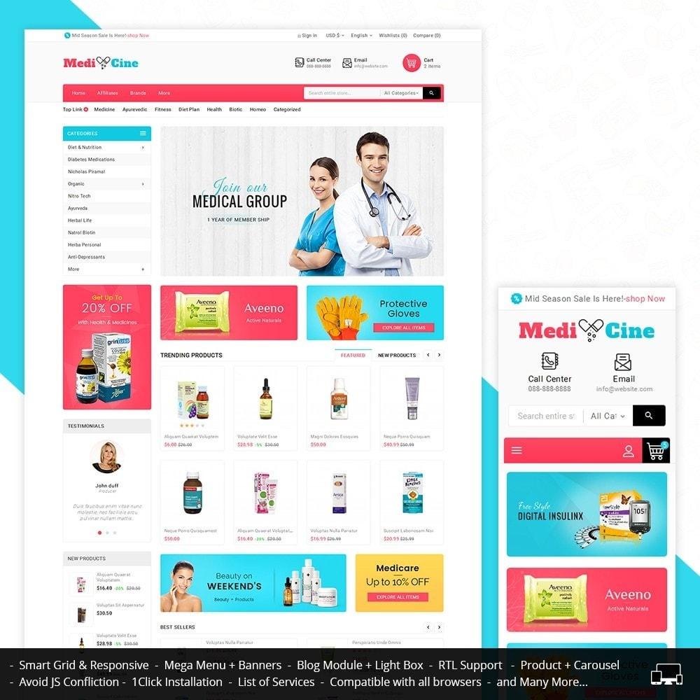 theme - Health & Beauty - Medicine Mega Store - 1