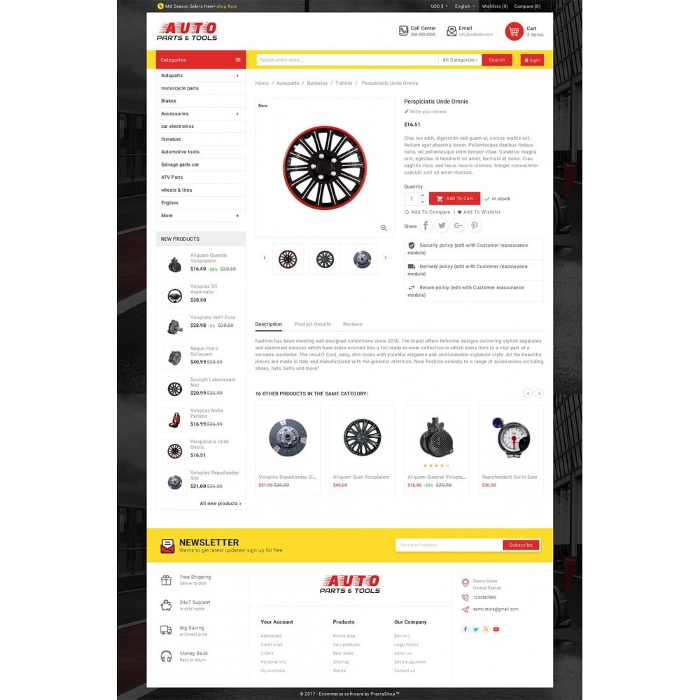 theme - Automotive & Cars - Auto Parts Mega Store - 5