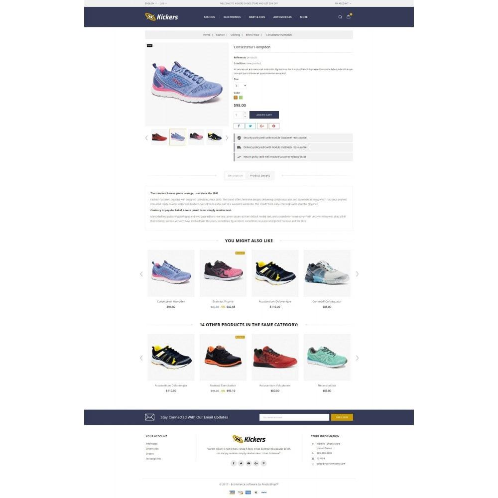 theme - Deportes, Actividades y Viajes - Kickers - Shoes Store - 5