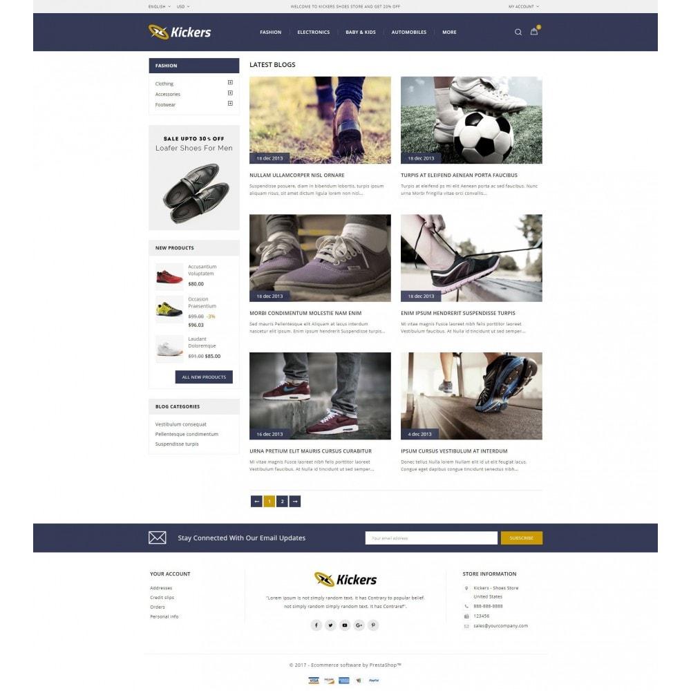 theme - Deportes, Actividades y Viajes - Kickers - Shoes Store - 9