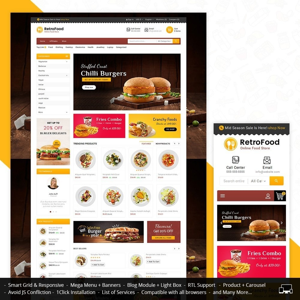 Fast Foods Mega Store