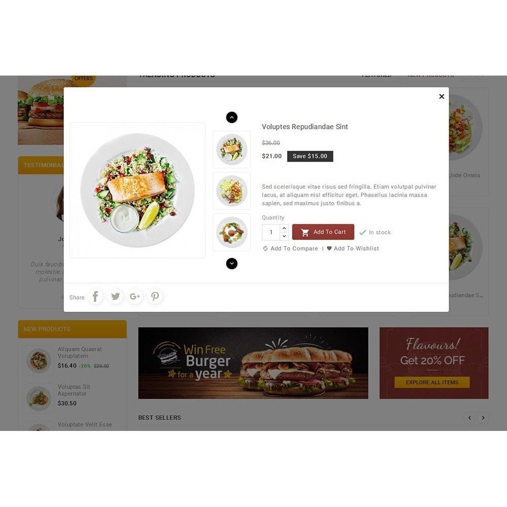 theme - Alimentos & Restaurantes - Fast Foods Mega Store - 8