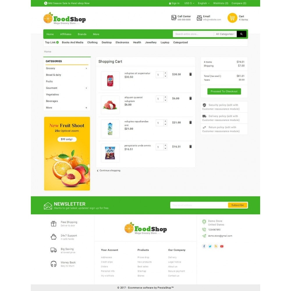 theme - Food & Restaurant - Grocery Food Mega Store - 6