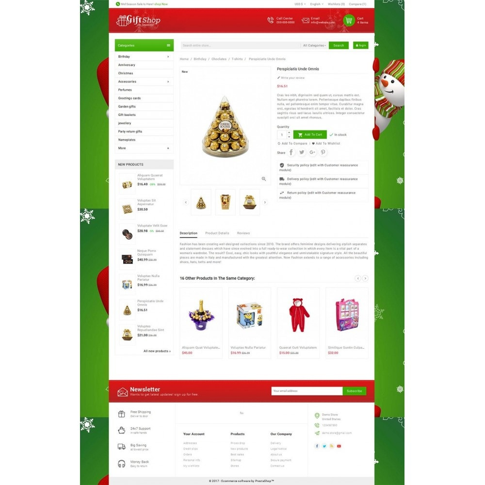 theme - Gifts, Flowers & Celebrations - Christmas Gift Mega Store - 5
