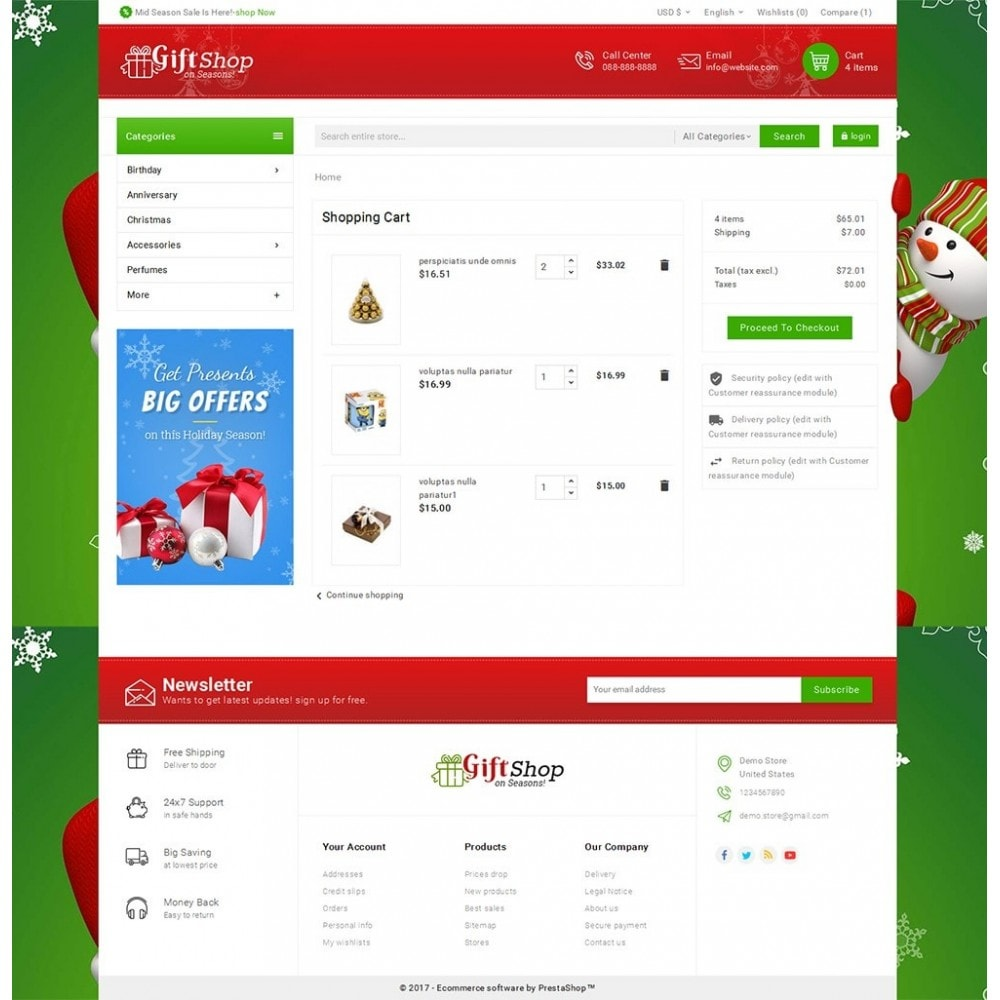 theme - Gifts, Flowers & Celebrations - Christmas Gift Mega Store - 6