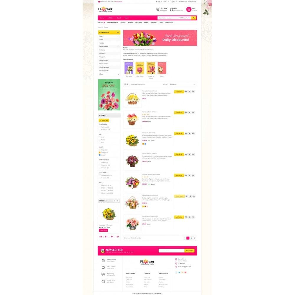 theme - Presentes, Flores & Comemorações - Blooming Flower Mega Store - 4