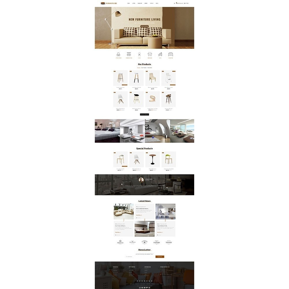 theme - Casa & Jardins - Furniture Store - 2